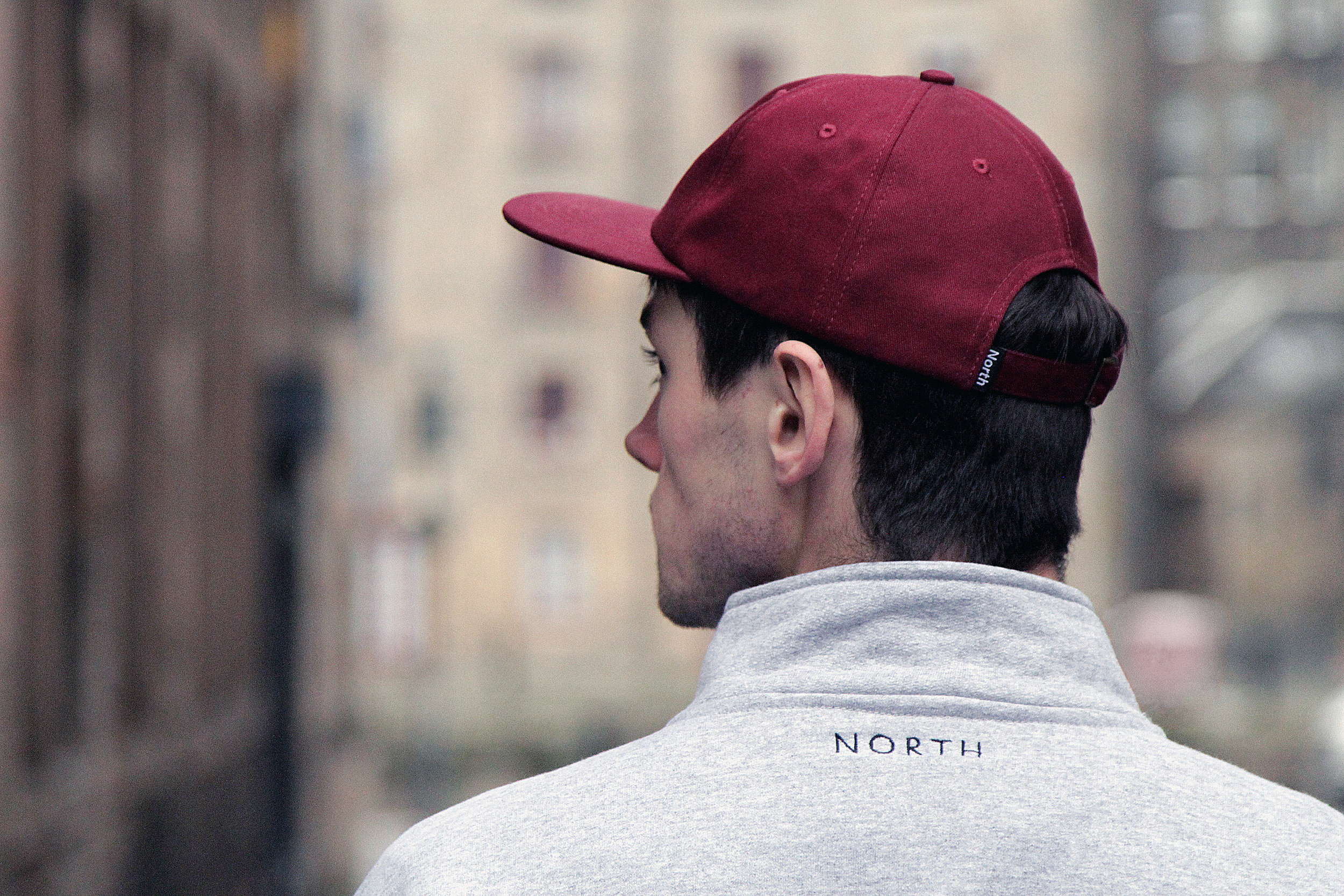 Supplies Logo Burgundy 6 Panel Cap 2.JPG
