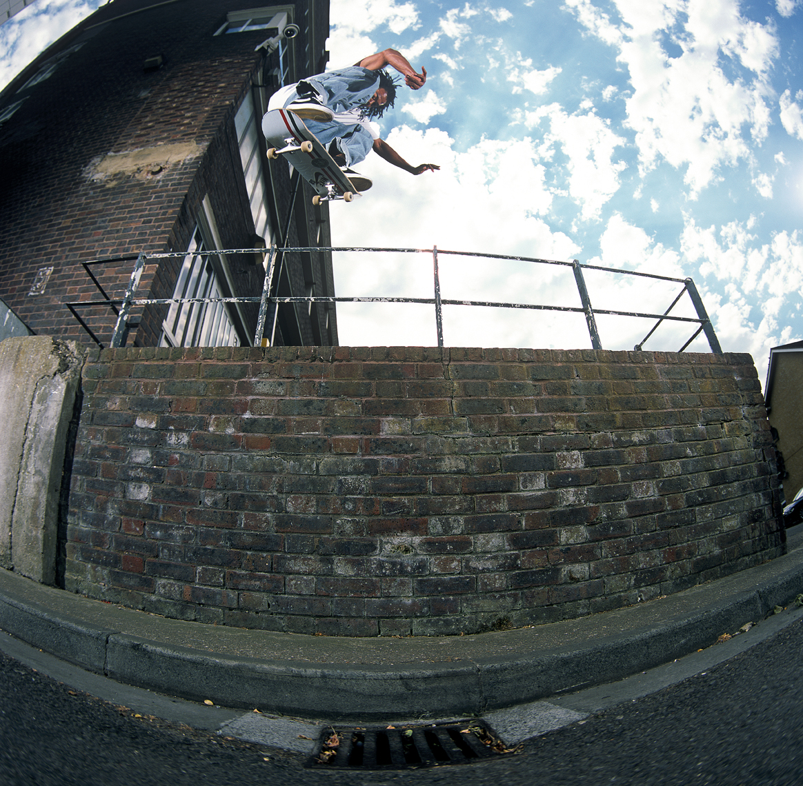 Switch Heelflip - Featured on North 19 Cover