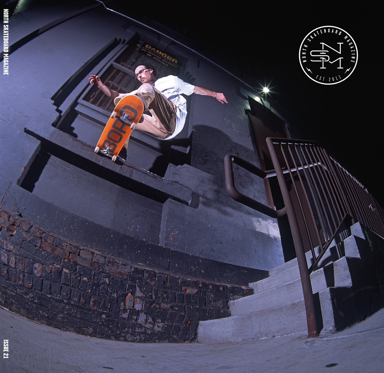 Cover: Neil Herrick - Gap to Noseslide  Photographer: Graham Tait