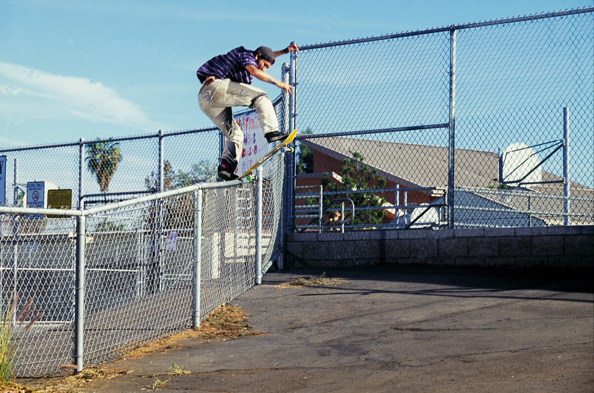 Maybe you saw this already as the digital version of Jeremy Leabres front blunt transfer in San Diego was used as a Toy Machine ad. Maybe not.