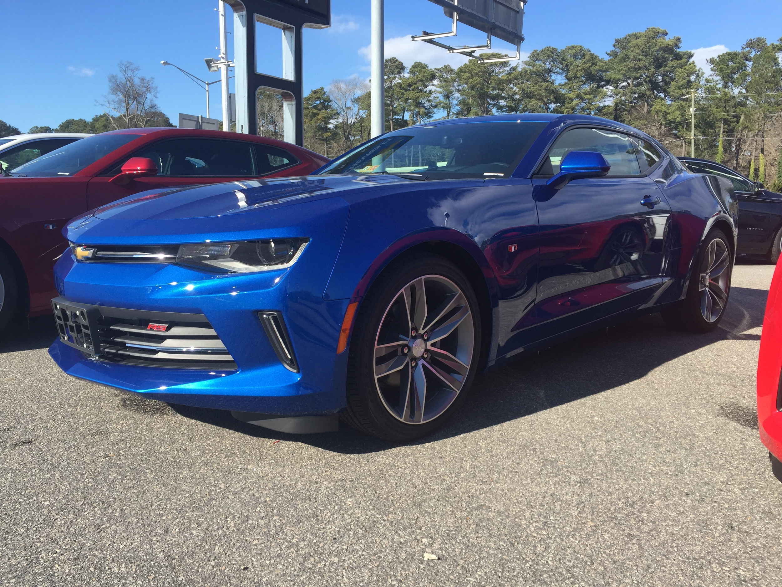 Camaro LT1 Horsepower Virginia Speed