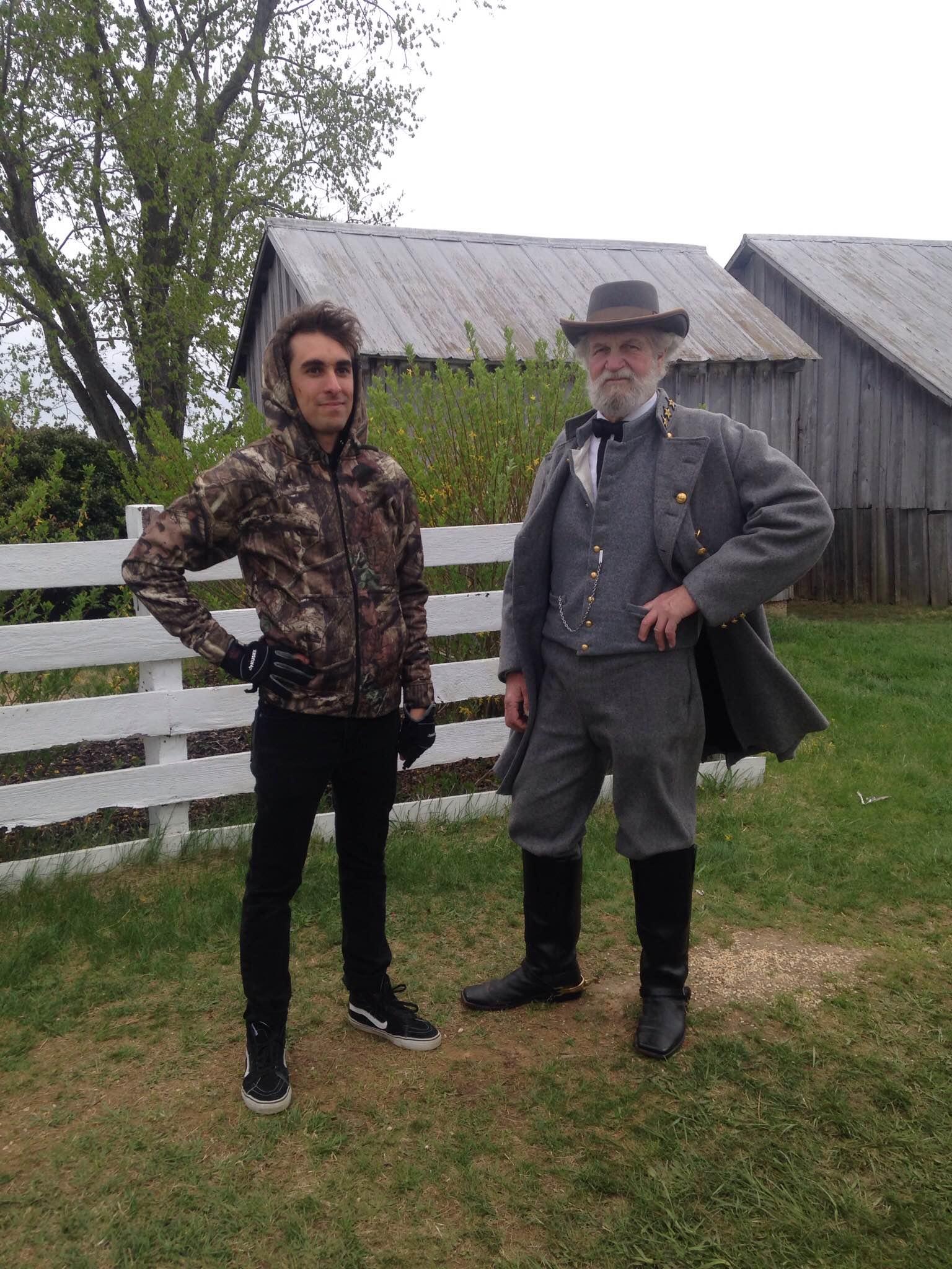 Me and Robert E. Lee