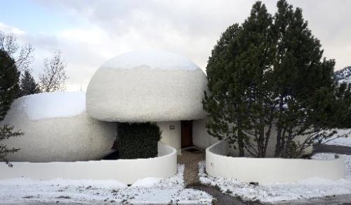 The Charles A. Haertling-designed Brenton House at 3752 Wonderland Hill Drive in Boulder. (Paul Aiken / Daily Camera)