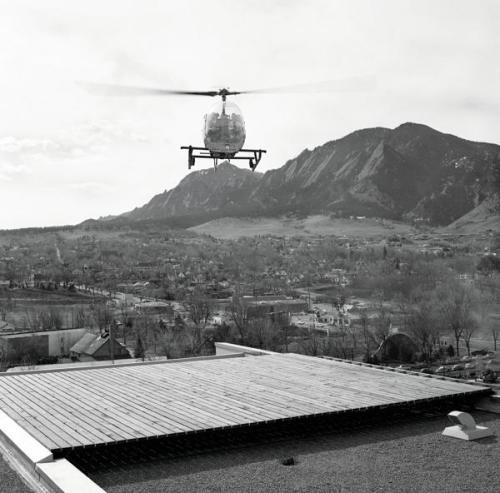 Colorado Building Helipad