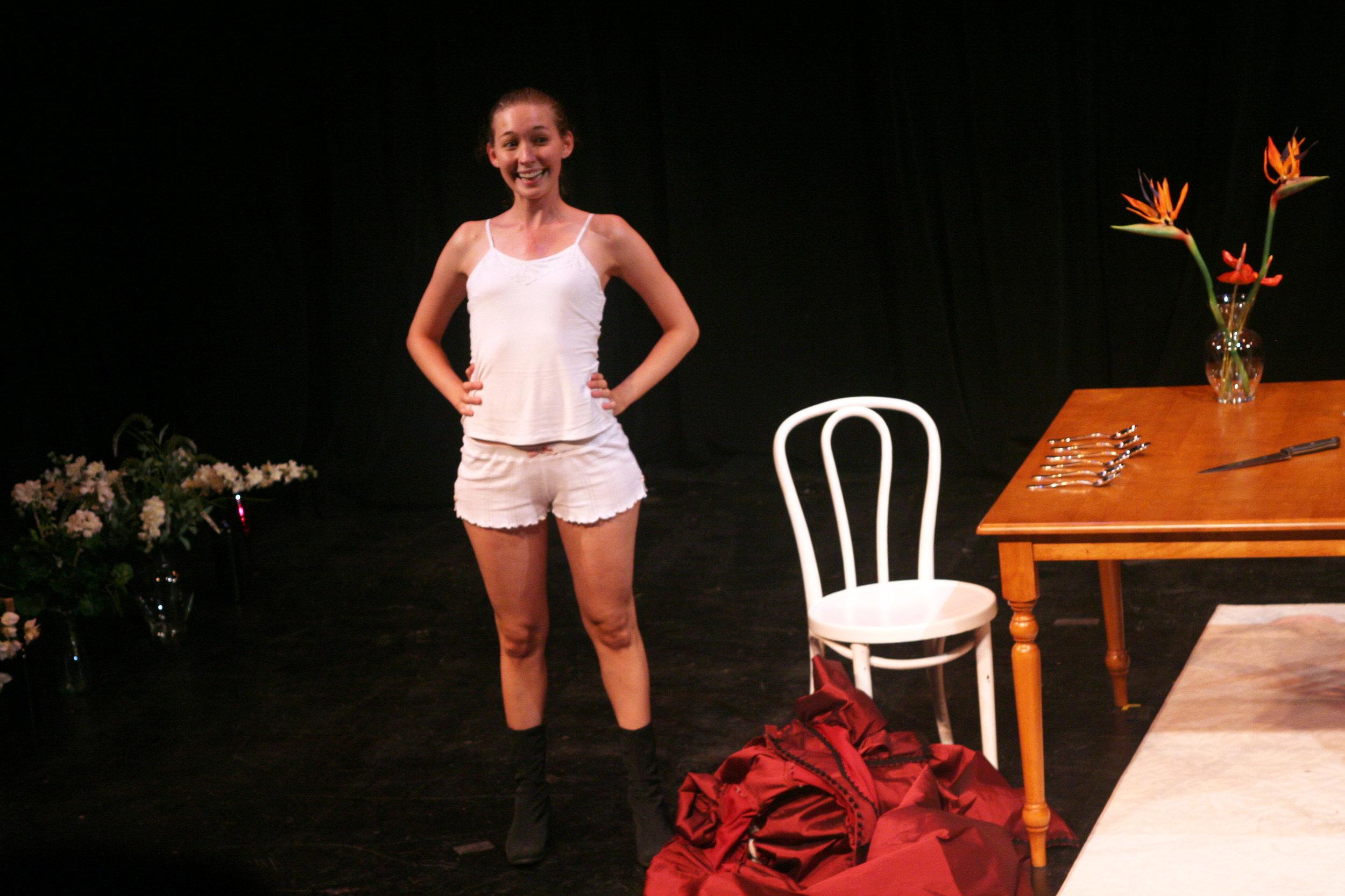 Dressing Miss Julie