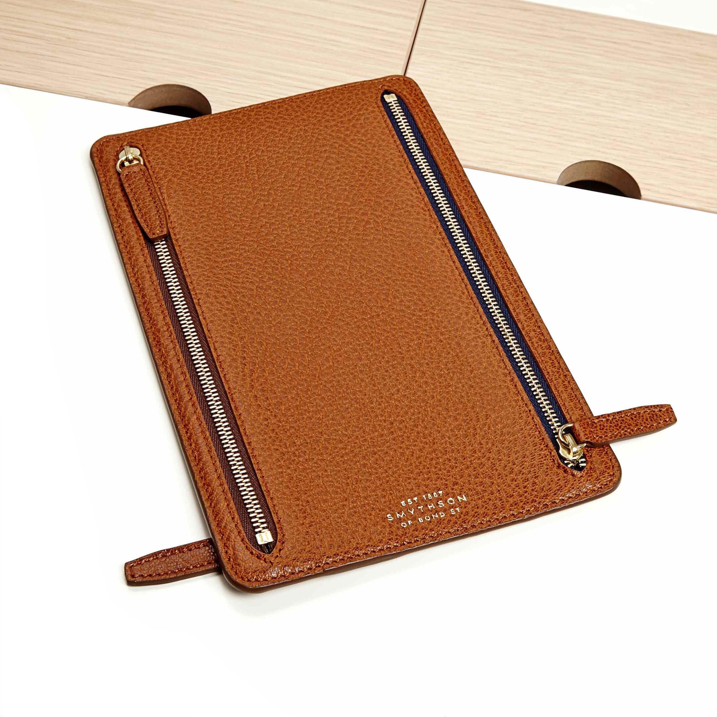 Smythson leather cases