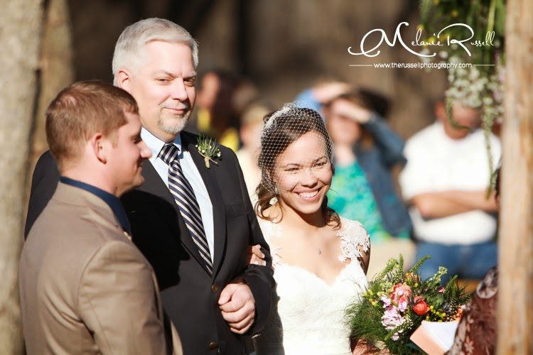 """This image kinda makes me giggle... Here Emily is, over the moon that she is marrying the man of her dreams. And here is Dad, giving him  the look . That """"You better treat my baby girl right"""" look.. We get it Dad, we totally get it."""