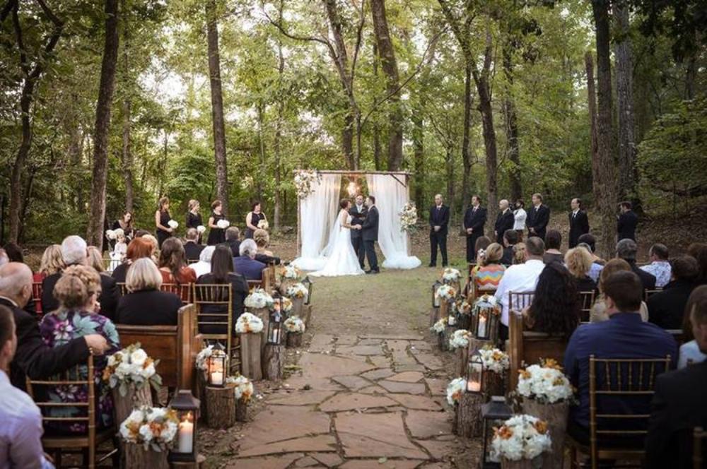 Photo:  Miles Witt Boyer , from Lauren & Jack's  wedding at The Barn last fall.
