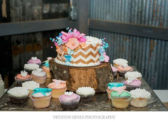 Tryston Hines Photography , from  Kortney + Dakota 's pretty pastel wedding