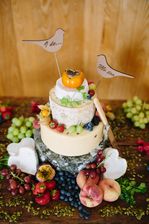 A literal  cheese cake  for all you cheese lovers! Plus, you've gotta have all the cheese tray essentials... something savory, something sweet, a vehicle (crackers, bread, etc.), and some type of meat!