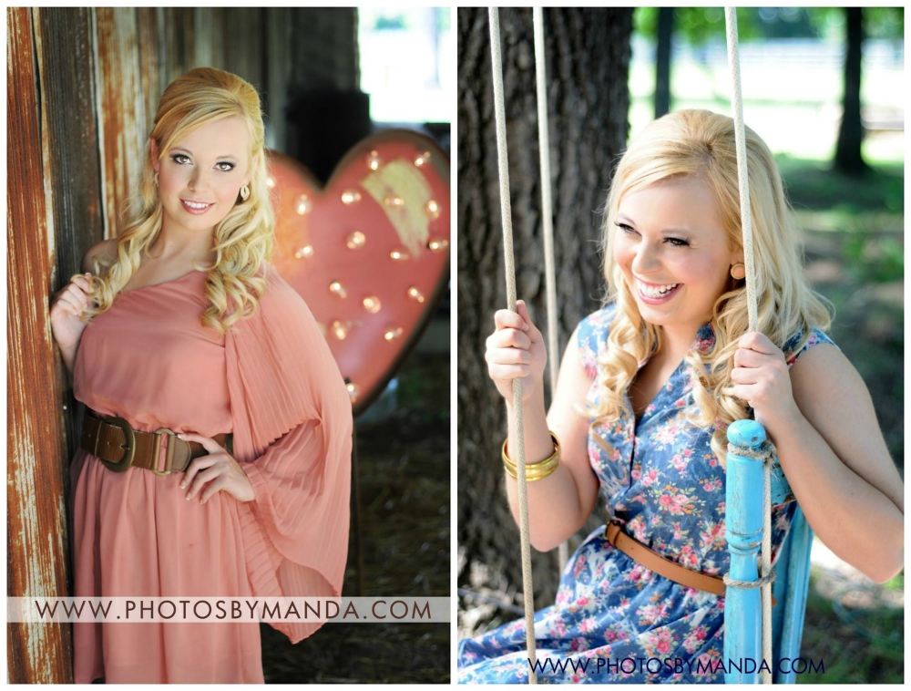 Photos by Manda . You can see more from this adorable girl's session  here .