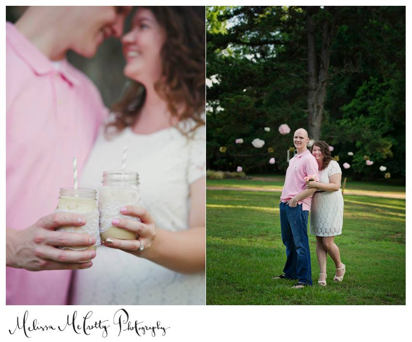 Melissa McCrotty Photography  . See more from our engagement and wedding pictures  here.