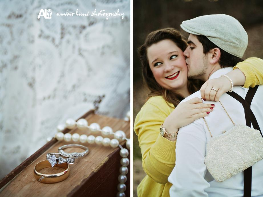 Amber Lane Photography . See more from this lovely vintage-inspired session  here .