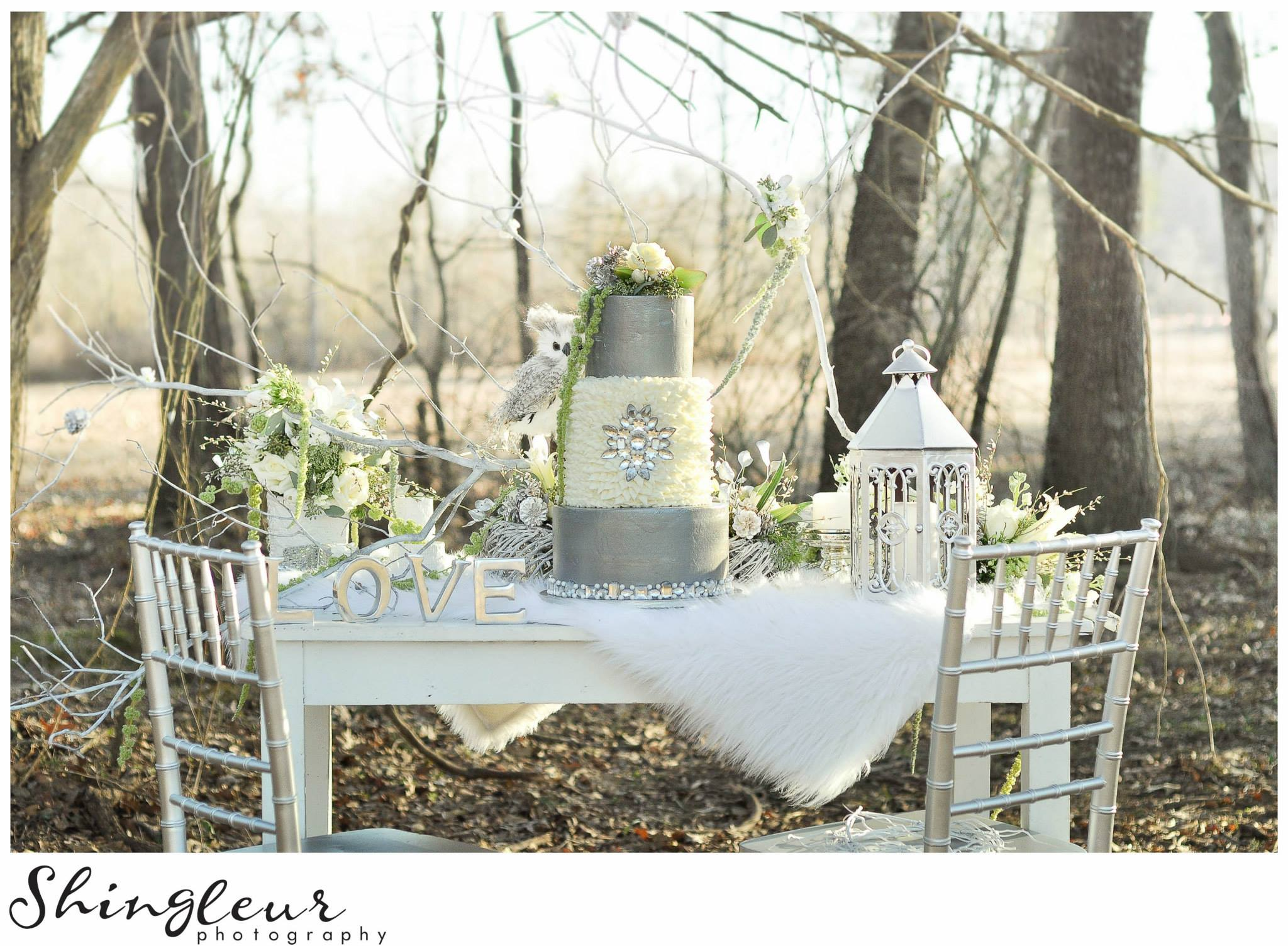 From our  Winter Fantasy Styled Shoot.