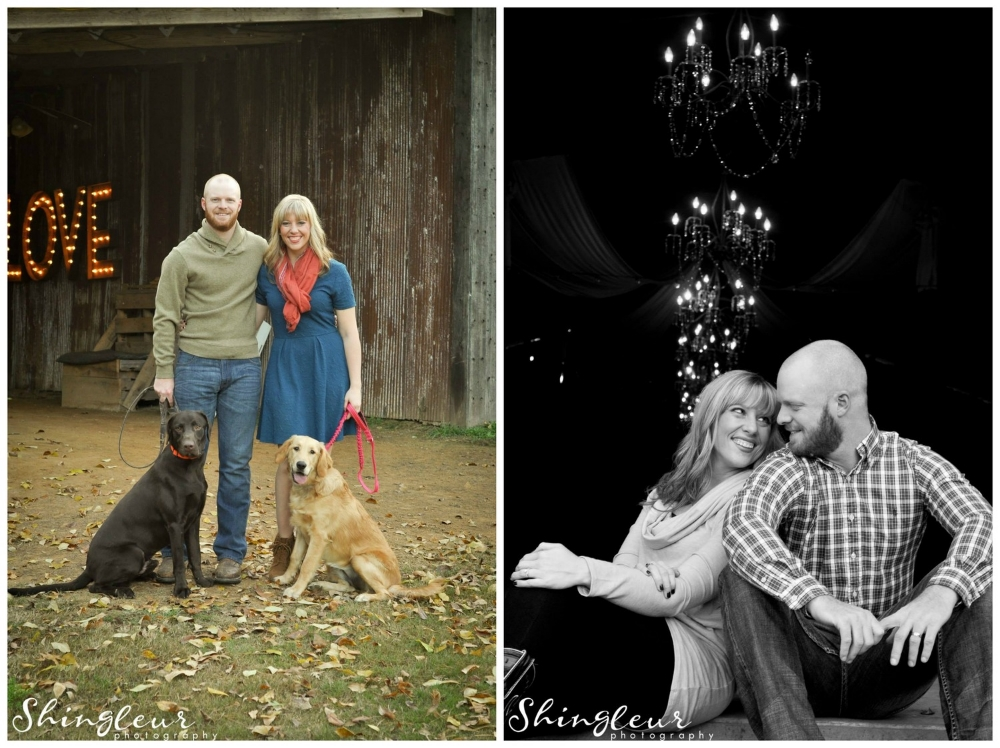 From  Lyndsey + Brad 's sweet family photos. (P.S. They  got married  at The Barn last year!)