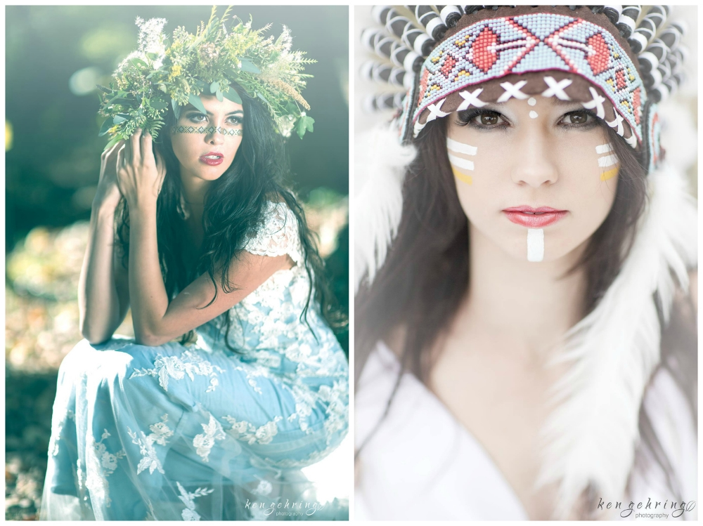 Ken Gehring Photography  , from our  Native American Heritage Styled Shoot  .