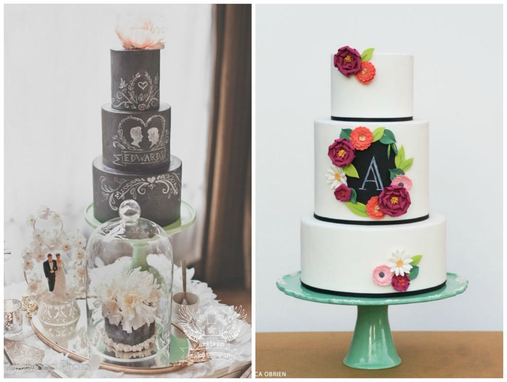 Emmaline Bride ;  The Cake Blog