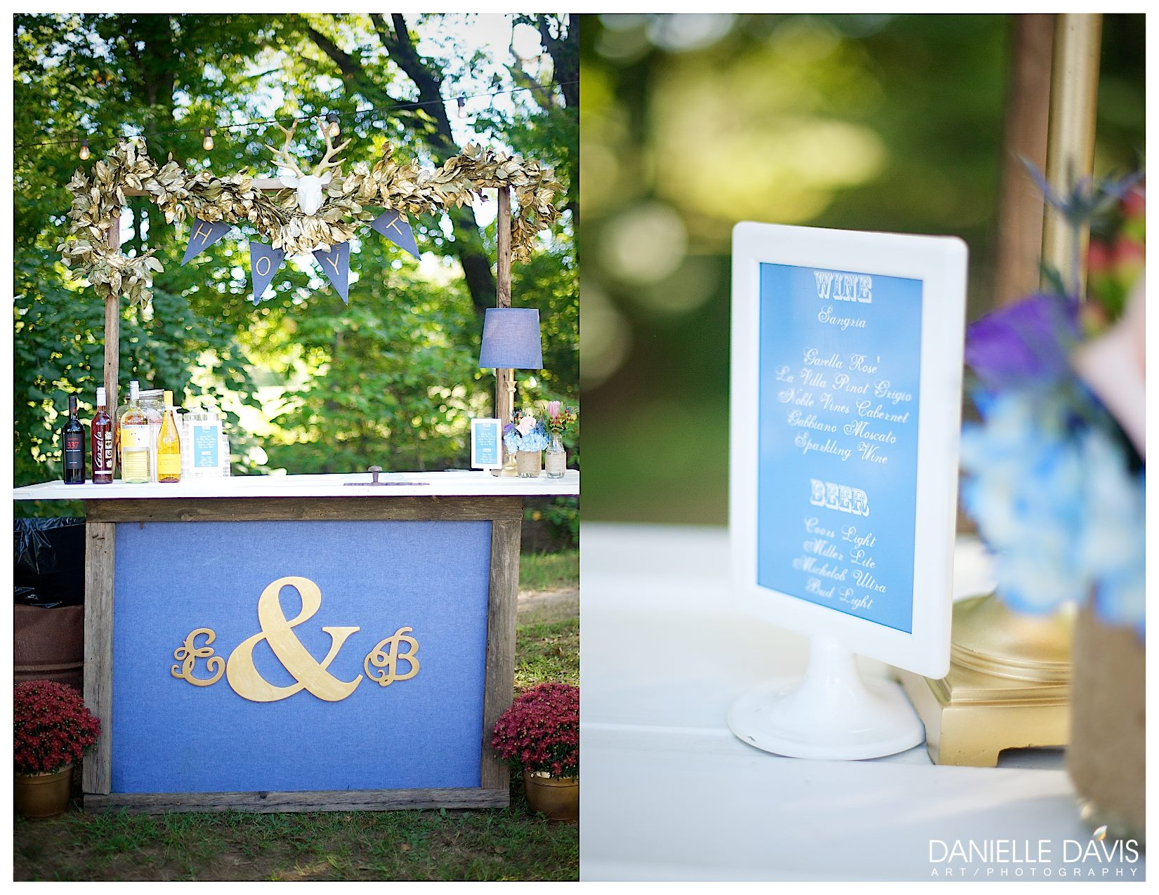 Danielle Davis Art/Photography , from  Emily + Blake 's wedding at The Barn