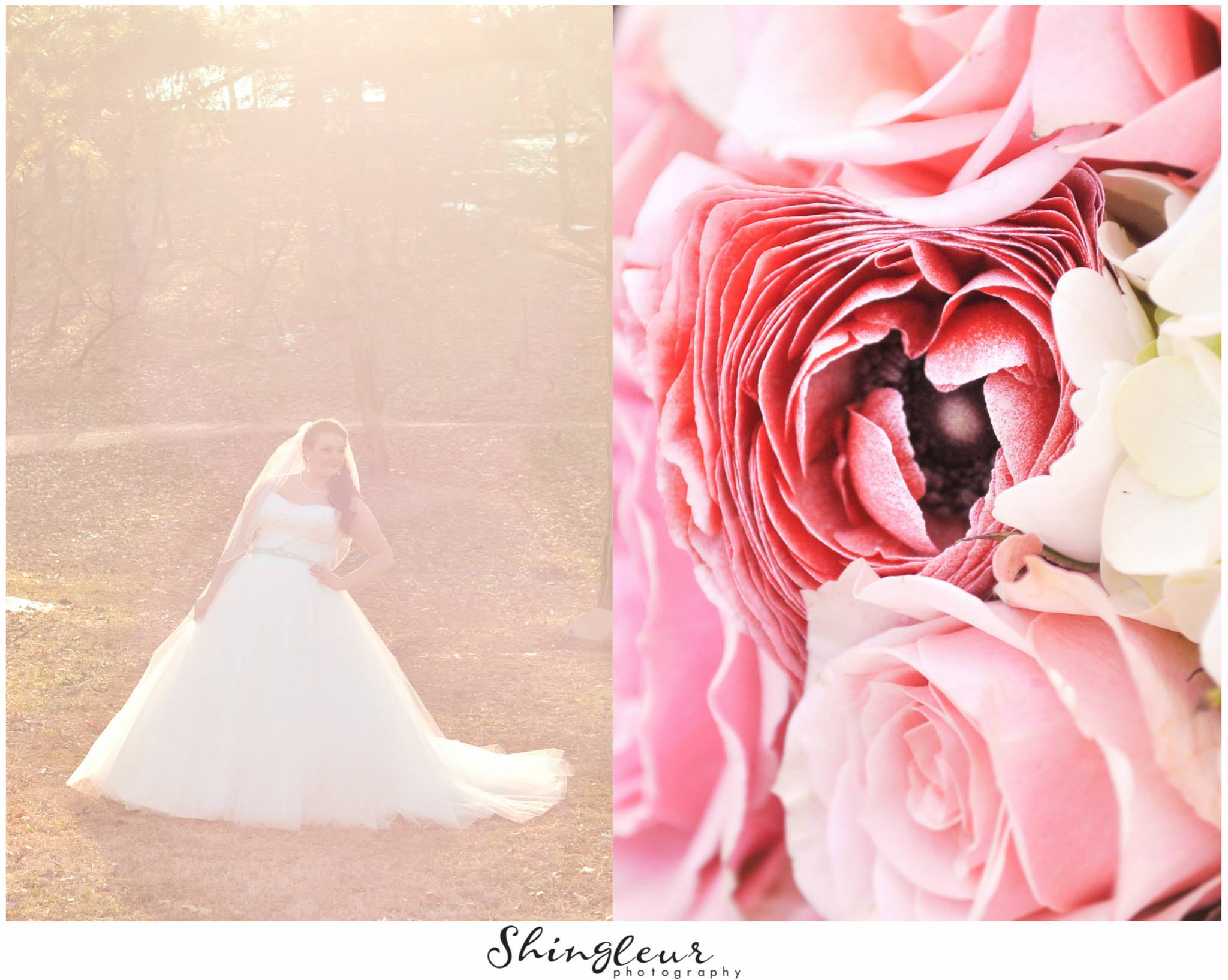 Shingleur Photography . Another couple of dreamy shots from  Brittany 's bridals.