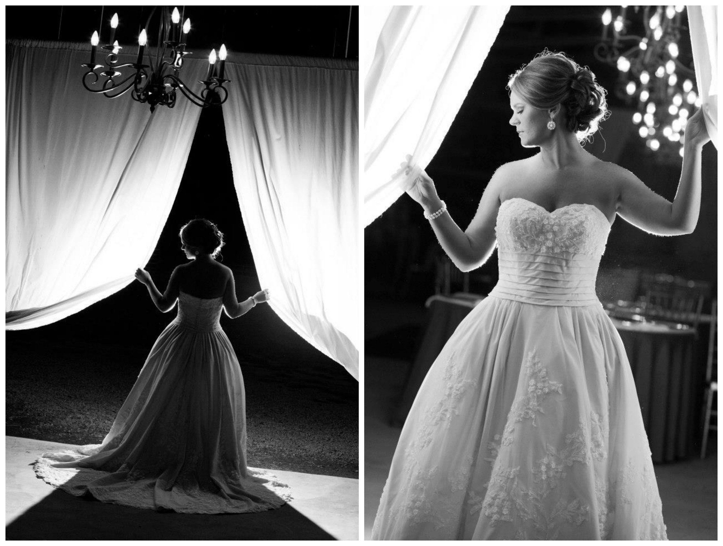 JRowe Photography .  Jana 's bridals are as glamorous as it gets!