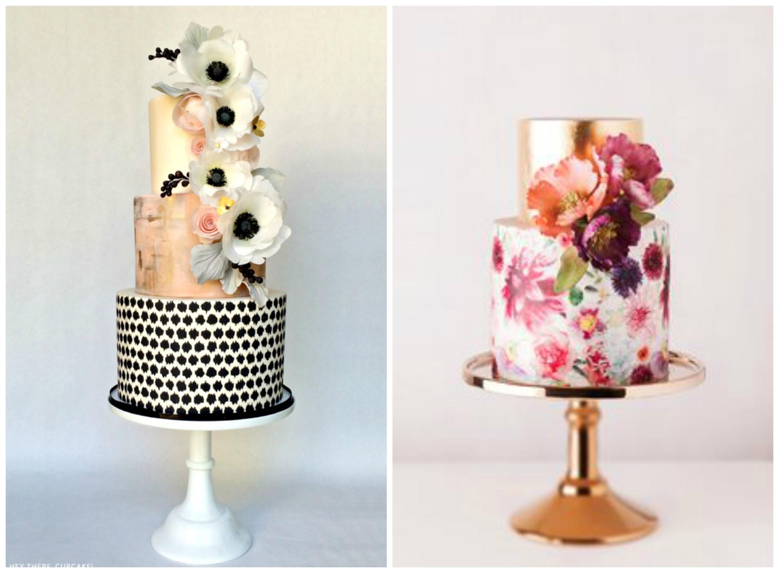 The Cake Blog ;  Polka Dot Bride