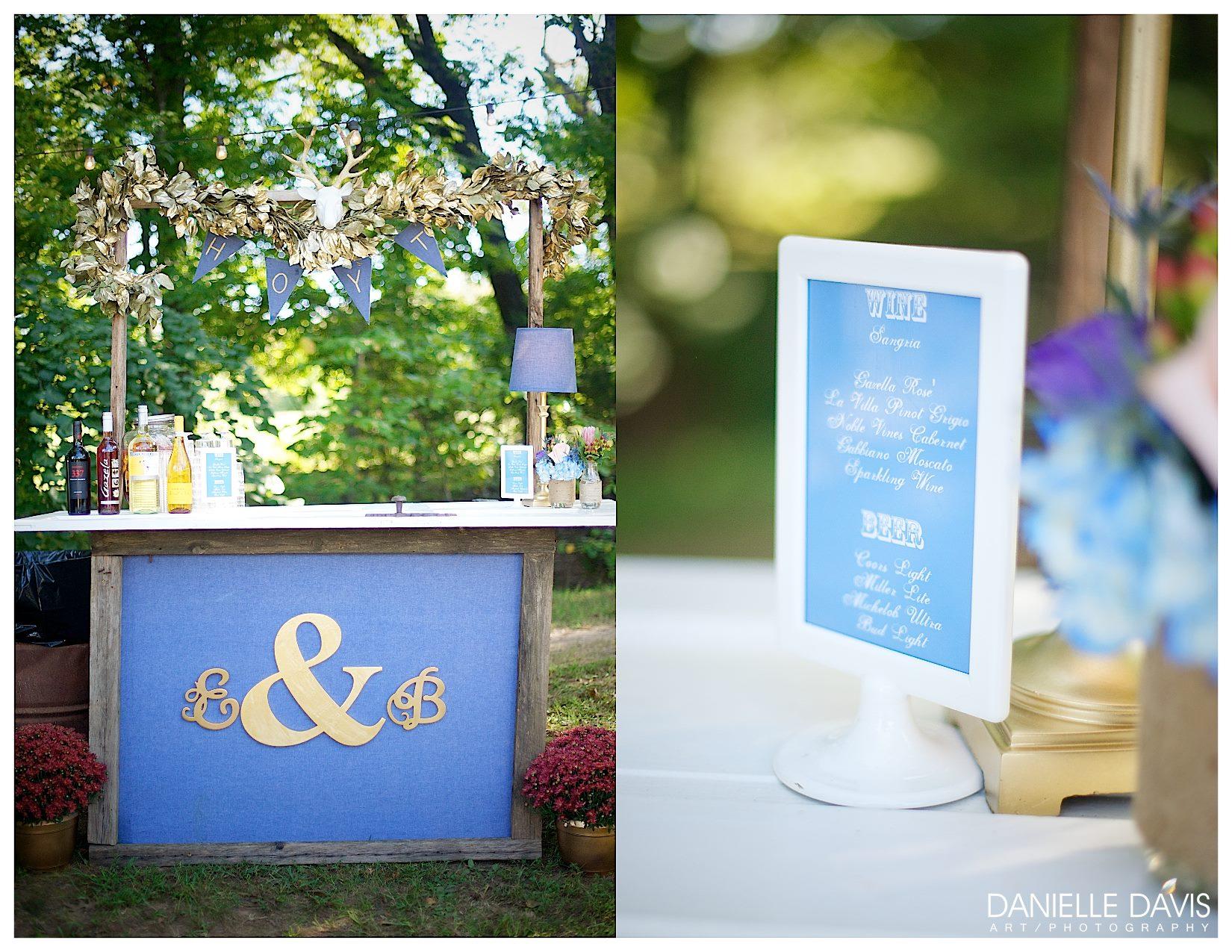 Danielle Davis Art/Photography  , from  Emily + Blake  's wedding at The Barn