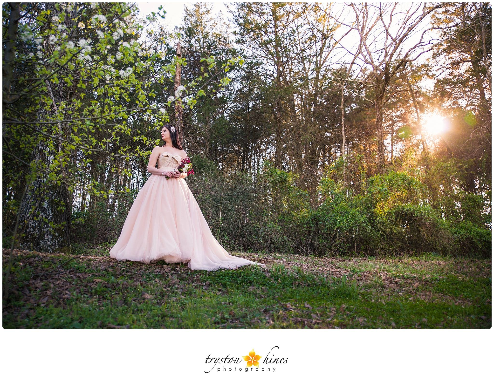 Tryston Hines Photography , from Katie + Alan's wedding at  The Barn  just two days ago. I'm blown away by this gorgeous blush + ivory stunner!