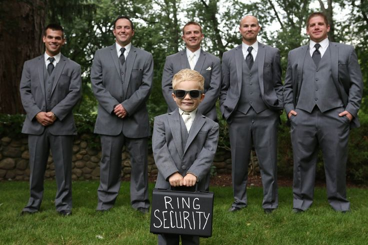 "Knots Villa . Search ""ring security"" on Pinterest. This idea can be super cute and funny!"