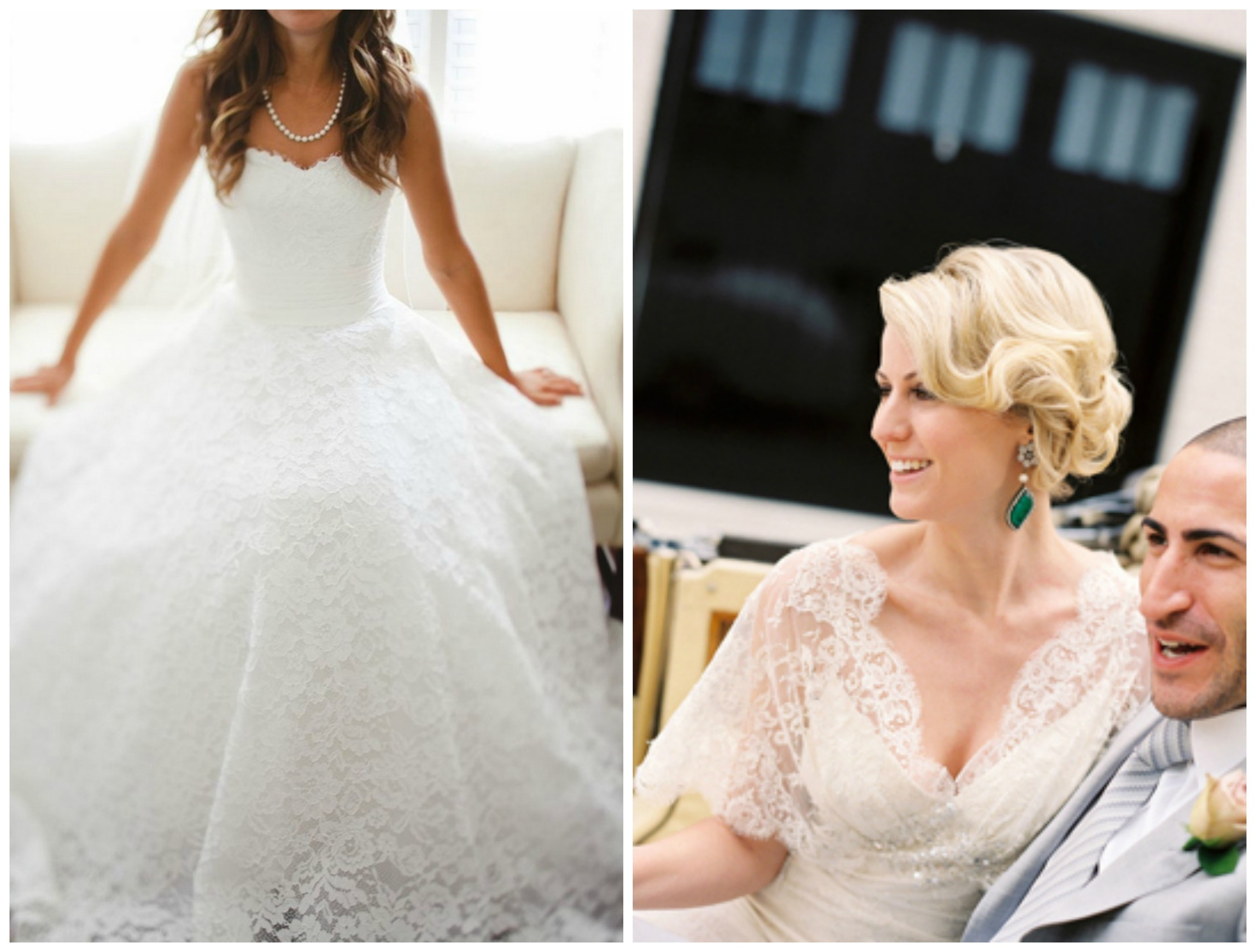 Tulle & Chantilly ;  Once Wed