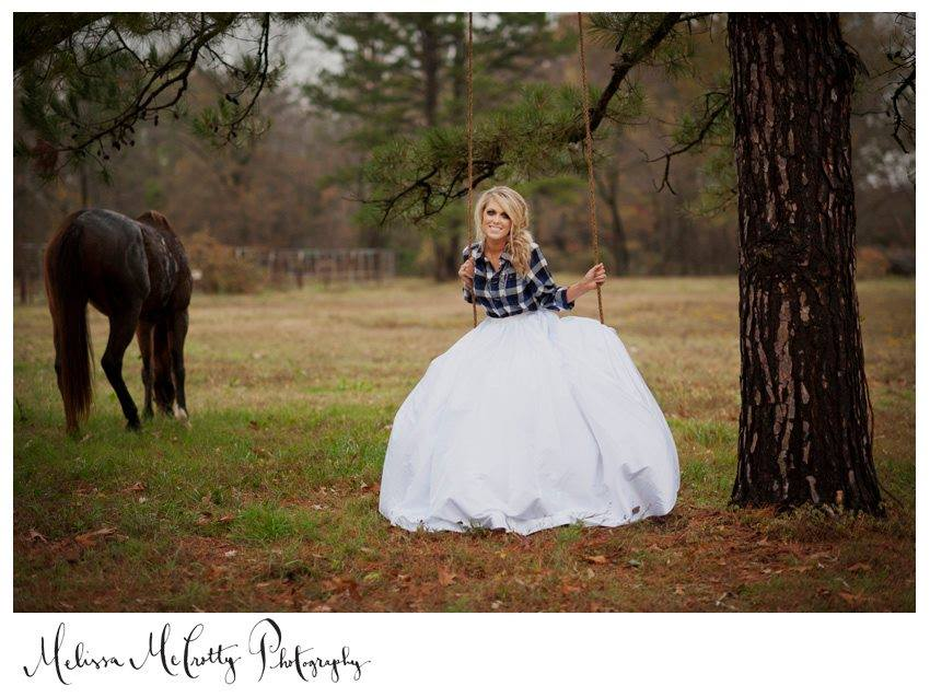Melissa McCrotty Photography . This photo is from our  first styled shoot , which took place way back in the fall of 2011, before The Barn was even built! The details from this shoot are still some of my favorites. I love a bride in plaid!