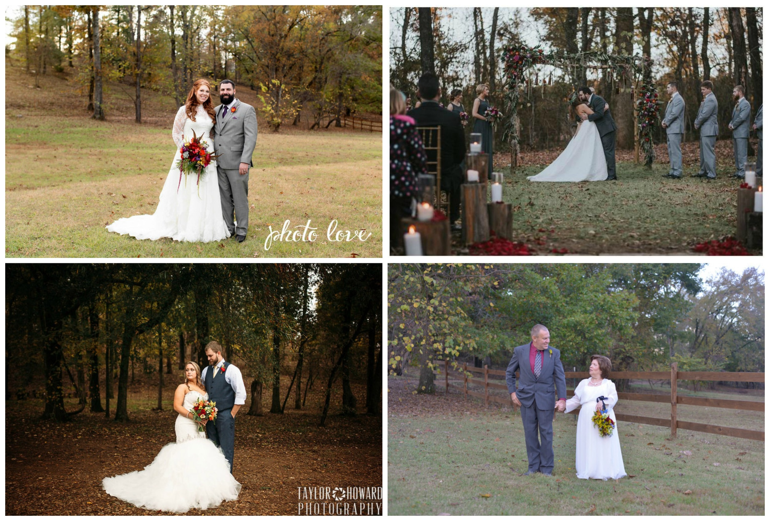 Photo Love ;  B.Matthews Creative ;  Taylor Howard Photography ;  Photos by Manda