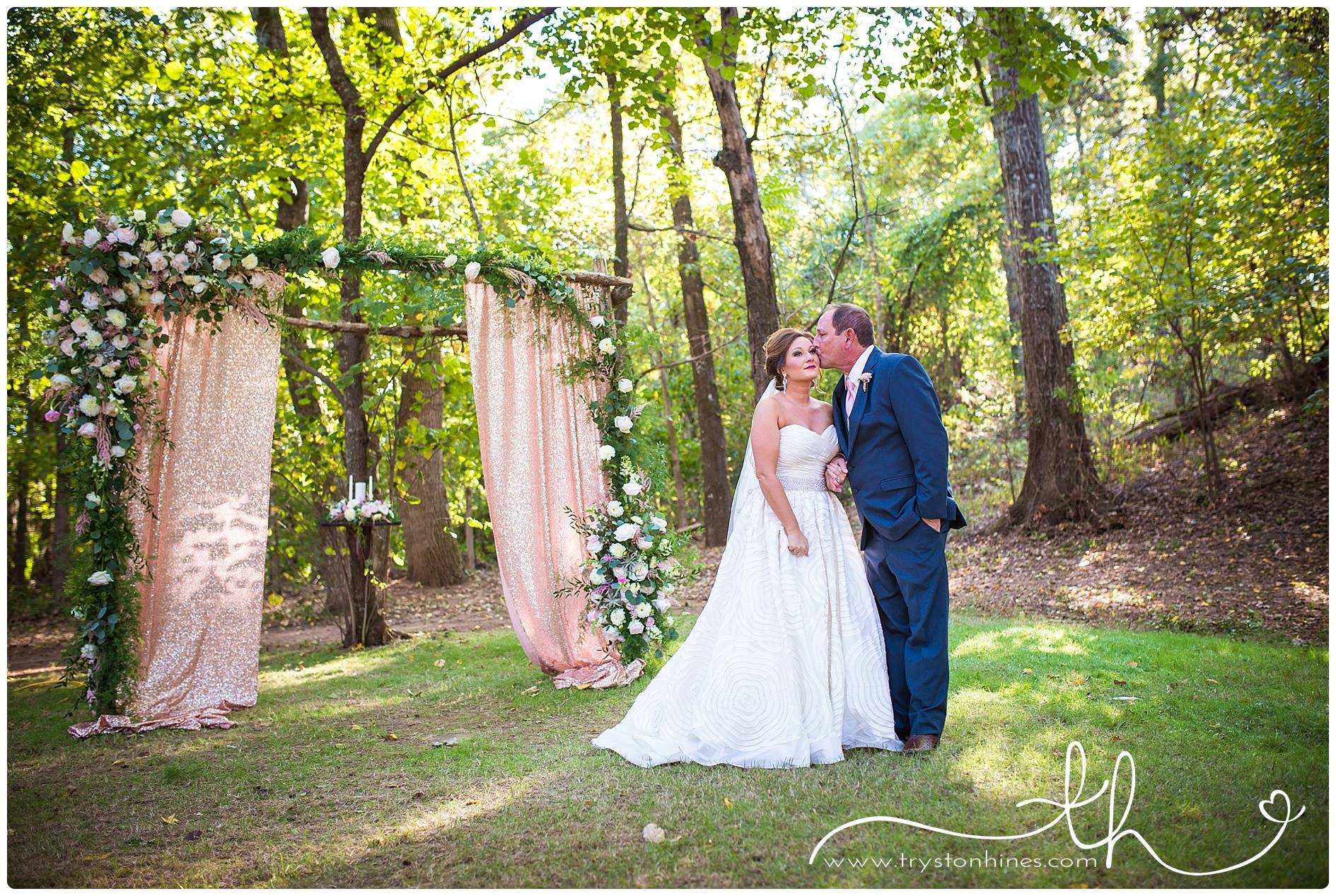 Tryston Hines Photography , from  Monica + Ryan 's wedding. This dad had the sweetest reaction to seeing his daughter as a bride... Go check it out in their blog post. Prepare to CRY.