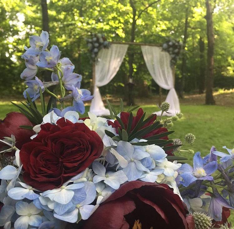 Instagram photo from  Brandi + Rey 's wedding