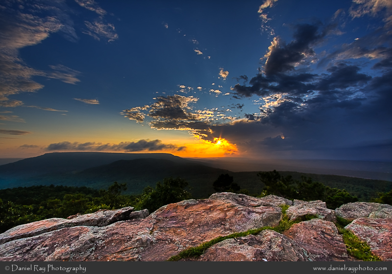 Daniel Ray Photography . Mount Nebo's stunning Sunset Point.