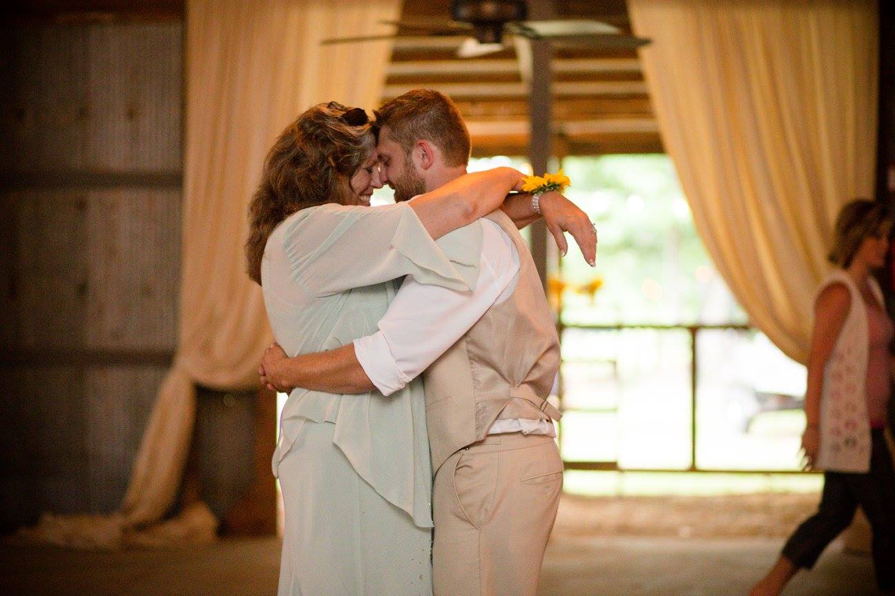 The Jame , from  Rachel + Johnnie 's wedding. Nothing sweeter than a groom and his mama. <3