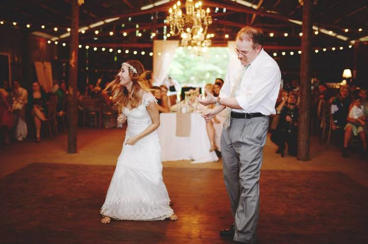 Stephanie Parsley Photography , from  Samantha + Danny 's wedding. Samantha and her dad had the BEST father-daughter dance.