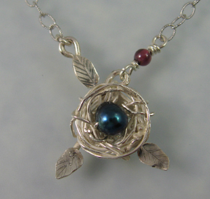 Birdnest Necklace - Perfect for a mother-to-be