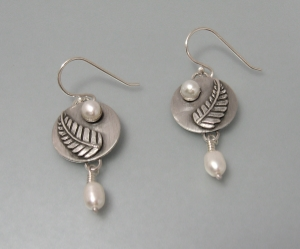 Forest Fern Earrings for the mom that loves nature