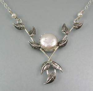 Lover's Embrace Vine Necklace