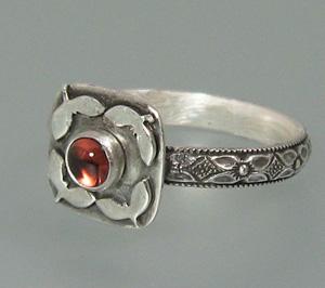 As You Wish Garnet Ring