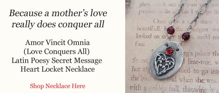 Love Conquers All Secret Message Locket