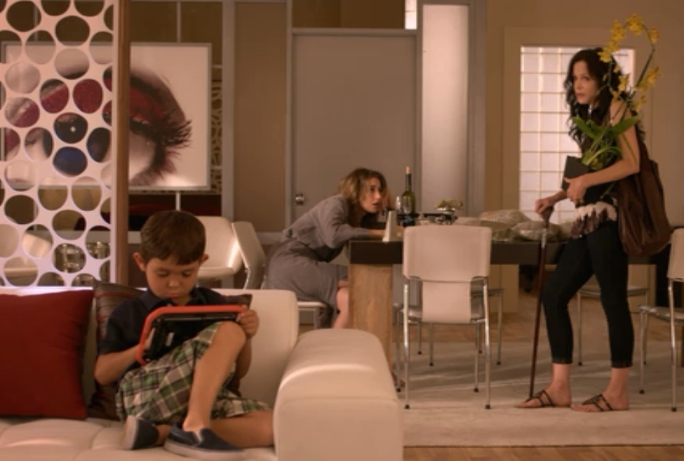 """Vinci tablet with Nancy Botwin's son in """"Weeds"""""""