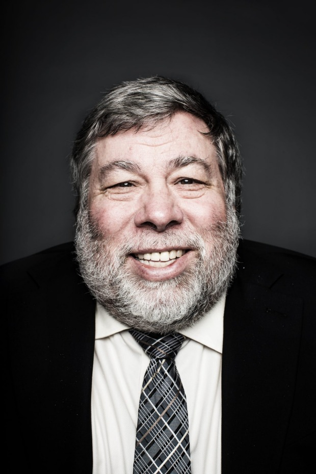 """Apple co-found Steve Wozniak:    """"As soon as I saw it (the QPED Life shirt) the caption caught my attention. The phrase 'shoot from the heart'captures what is most important to many of us, the exact right phrase that you don't see or hear often enough"""""""
