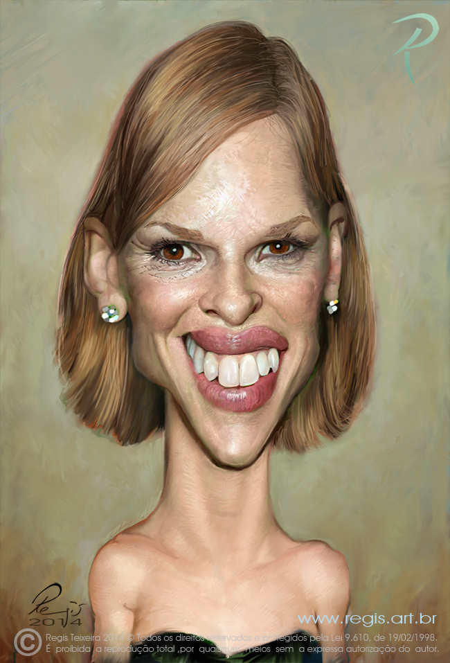 HIlary Swank by Regis Teixeira (All Rights Reserved)