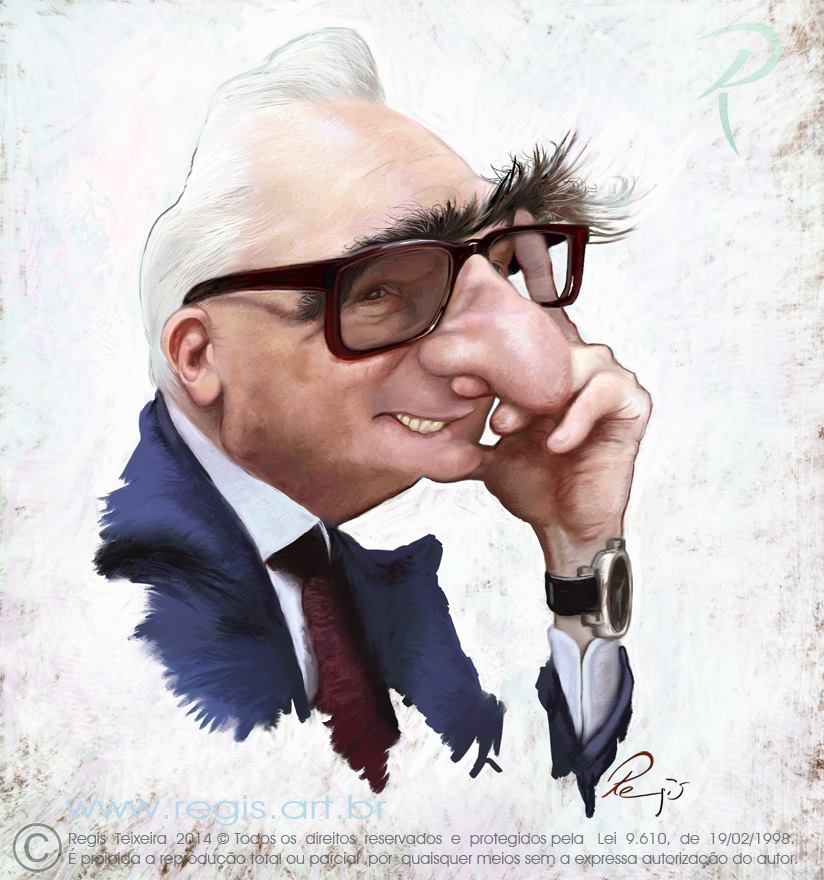 Martin Scorsese by Regis Teixeira (All Rights Reserved)