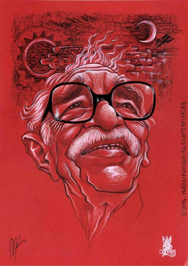 Gabriel Garcia Marquez by Marzio Mariani (All Rights Reserved)
