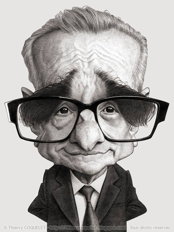 Martin Scorsese by Thierry Coquelet (All Rights Reserved)