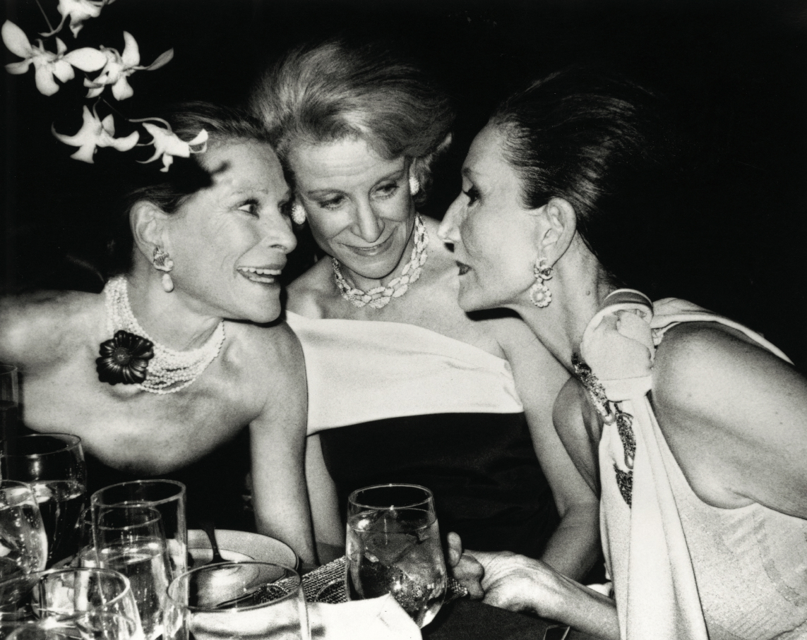 Nam Kempner, Fran Stark and Jacqueline de Ribes