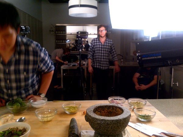 i shot a bunch of videos for bon appetit.