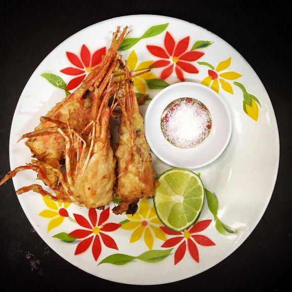 night market shrimp